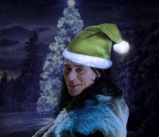 Loki - Sassy Claus by RancidRainbow