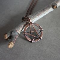 Pentagram necklace by WhiteSquaw