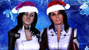 Ashley Williams and Miranda Lawson by BrainKiller20