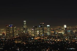 City of angeles in the night by ErickLopezFoto