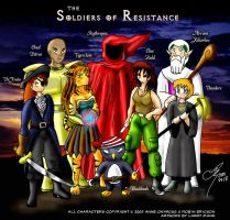 The Soldiers of Resistance by arconius
