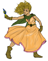 Halfling Cleric by kiffyplaysdnd