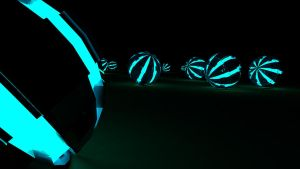 Tron Balls by vima-design