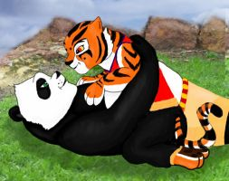 Po and Tigress 2 by BandoleraRoja