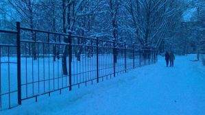 Russian winter by Hamanic
