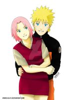 NaruSaku Smile by thei11
