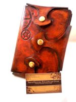 Steampunk Gothic Gear Journal by Skinz-N-Hydez