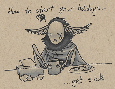 How To Start Your Holidays... by Norcinu