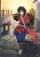 Master of the Blade: Red Exile by Luches