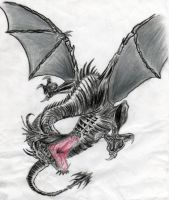 Black Dragon by Happy-Jiggly-Ruri