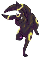 Heck yeah I'm an Umbreon by WindFlite