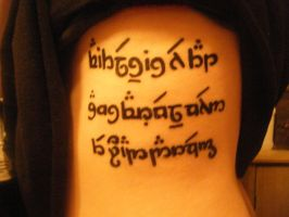Elvish Tattoo by Natatronic