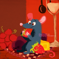 .:Gift: Le Ratatouille:. by Claualphapainter-95