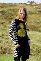 Log Lady Screen Printed Tee by Lydia-distracted