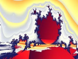 Crown of the Golden Heaven by FractalMonster