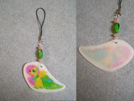 MLP Gala Fluttershy Cell Phone charm FOR SALE by AmyAnnie14