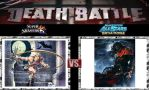 Death Battle Simon Belmont vs Gaberl Belmont by Werewolf-Hero
