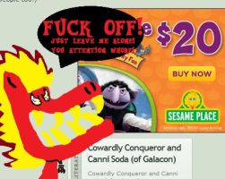 Ads that can't leave us alone! 1 (Sesame Place) by Tonytambe