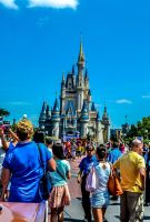 Disney World HDR by MrsChibi
