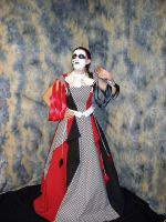 Harley Quinn Ball Gown by gurl1294