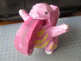 Papercraft - Lickytung 01 by ckry