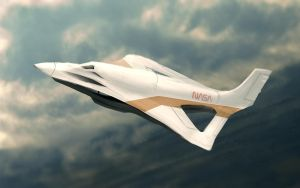 Nasa Concept Aircraft by Cluly