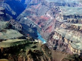 Colorado River Gorge by Synaptica
