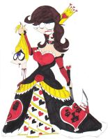 The Queen of Hearts Revamped by SpiketheKlown