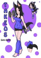 Takeos- Gym by white-fang-demon