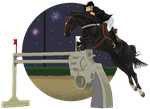 Cornelius Fillmore LMLR - New Years Show Jumping by WizzaidxD