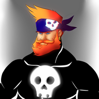 Red Beard Pirate Concept by duducaico