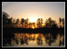 Reflections of a Setting Sun by CoolKSJ