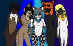 All the Gang by niffykid