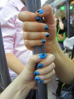 Blue and black by Santian69