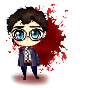 Will Graham Chibi by CuttingxClouds