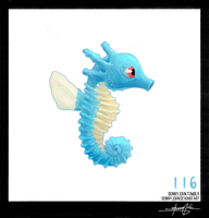 Horsea!  Pokemon One a Day! by BonnyJohn