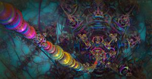 Connecting to the Psychedelic Brain by EricTonArts