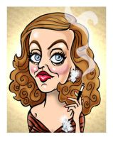 Bette Caricature- funface.com by Caricature-Guy