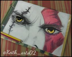 The Ghost of Sparta ~Kratos~ by Keith-arts02