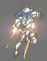 Star Wars Jango Fett by josohne