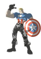 The Avengers Captain American by Apollorising