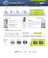 GetHappyHome website design by DarckBMW
