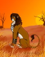 Lion Leon Colored by eldwin-black