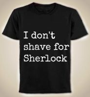 Shave for Sherlock by Ketzlin