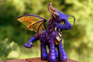 Purple Dragon by customlpvalley