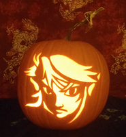 Link Pumpkin Light Version by johwee