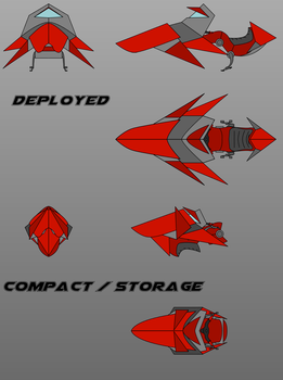Rumiany Miedz's hoverbike concept art by Pachumaster