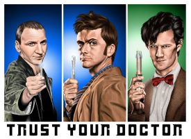 Trust Your Doctor - Color by musicality84