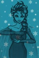 Birth of a Snowflake by Kaysa