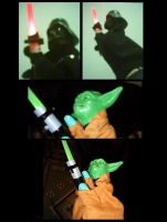 Star Wars Hand Puppets by paulinone